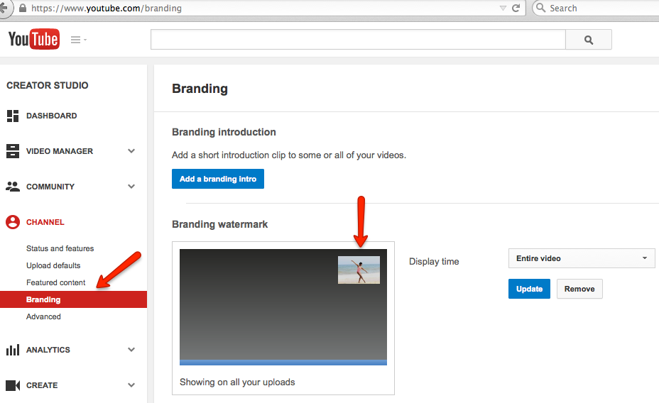YouTube Branding - How To Add A Watermark To Your Videos