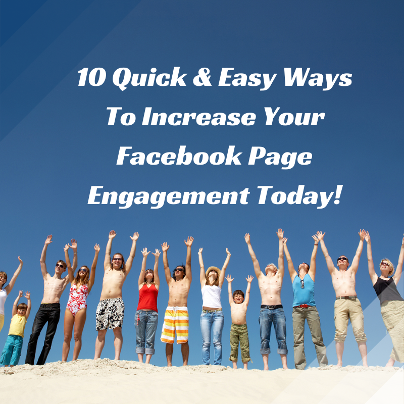 Learn some simple steps you can take today, to increase your Facebook page engagement!