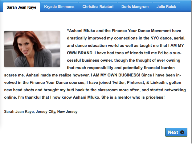 Testimonials from your clients are POWERFUL!!