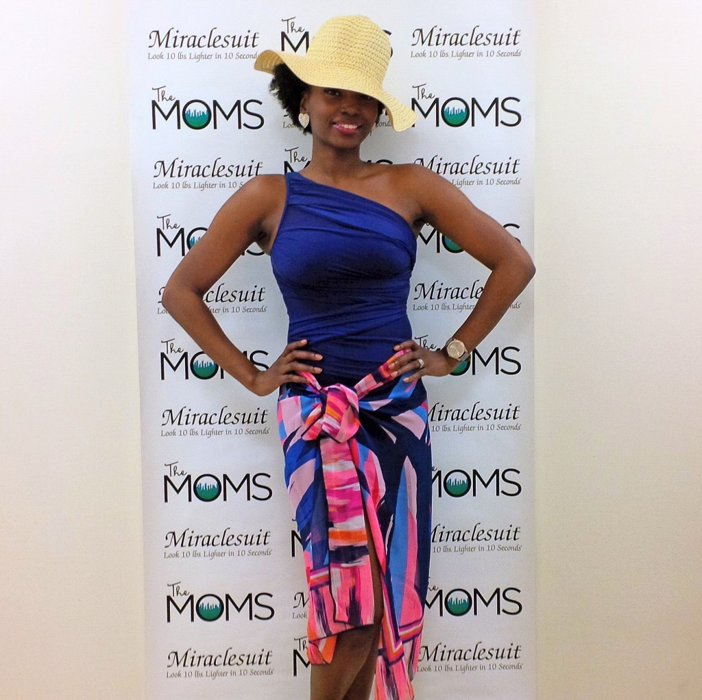 At the #MiracleMoms event w/ The Moms & MiracleBody by MiracleSuit