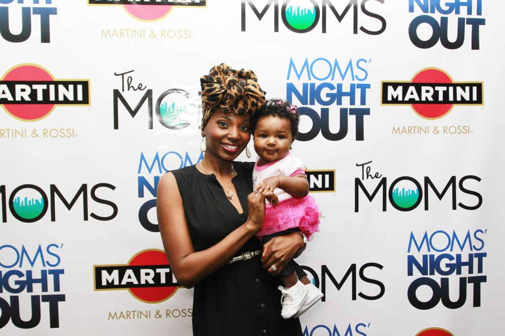 Baby Zuri was a trooper! This was her first movie, and she had a lot of fun!
