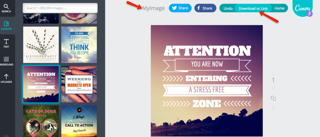 How To Use Canva To Create Social Media Images