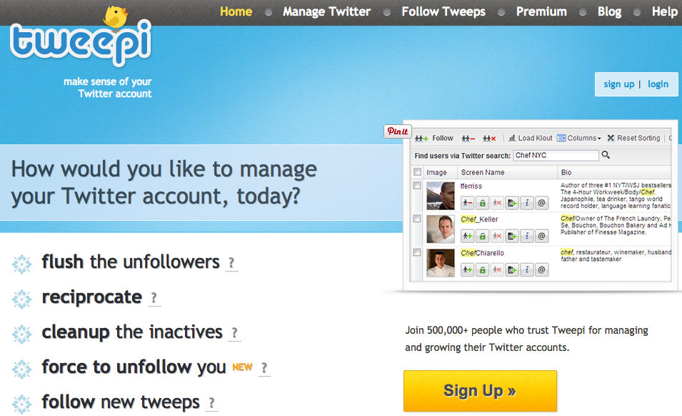Use Tweepi to flush out your unfollowers on Twitter