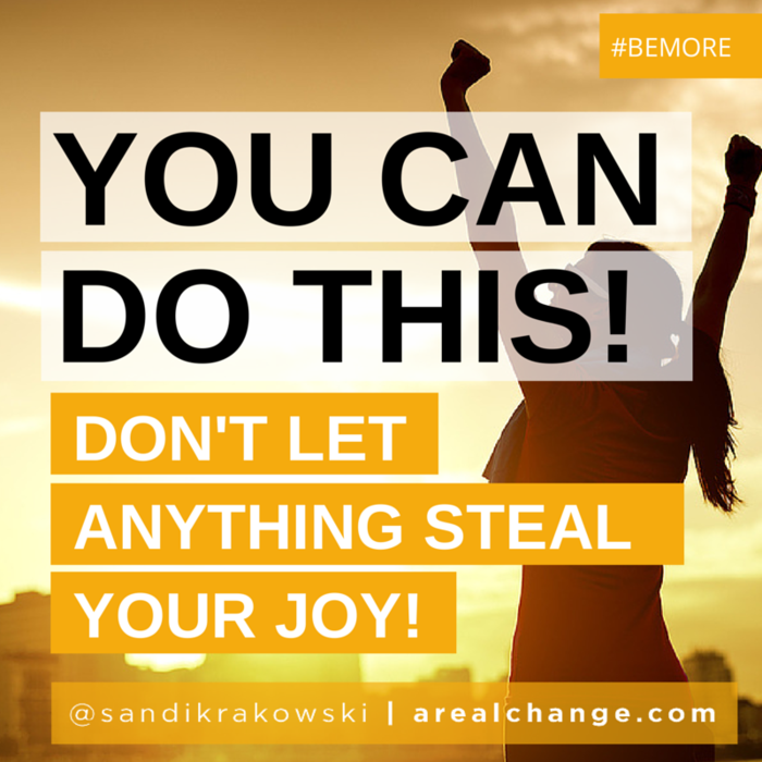 Sandi Krakowski Facebook Quote - #BeMore Book Tour