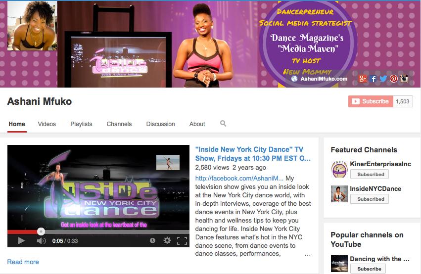 Subscribe to Ashani Mfuko's YouTube Channel