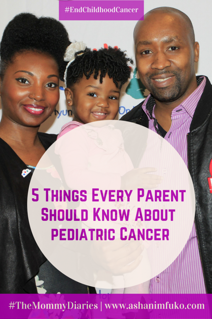5 Things Every Parent Should Know About Pediatric Cancer #EndChildhoodCancer