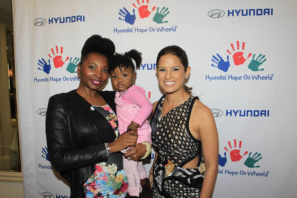The MOMS, and Hyundai's Hope On Wheels, Mamarazzi® Luncheon - Ashani Mfuko with Guest Host, Rocsi Diaz Photo Credit: Mission 101 Media