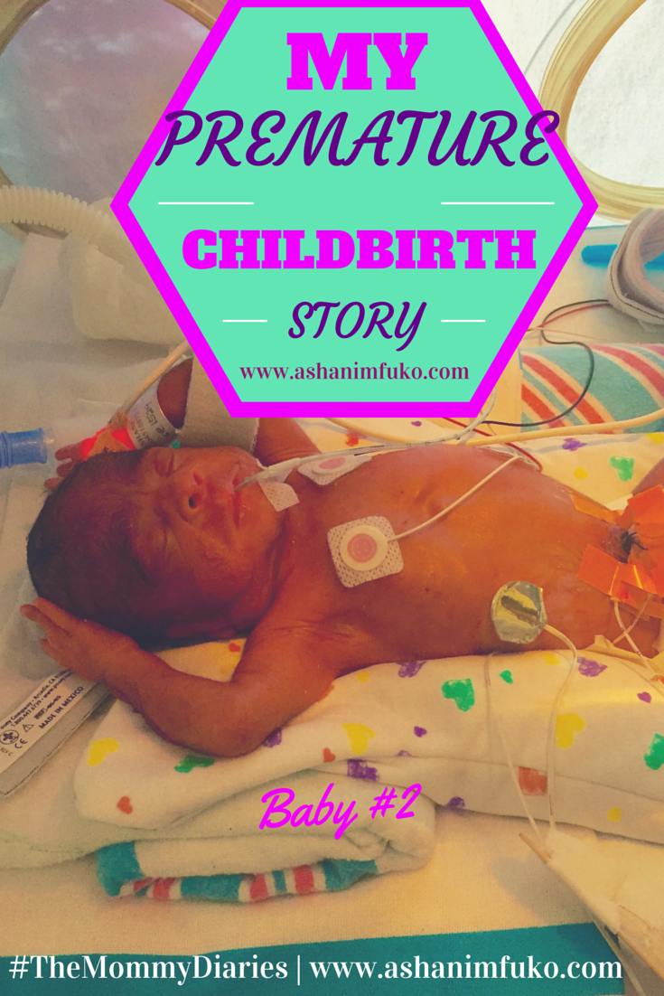 my unexpected premature childbirth story baby 2