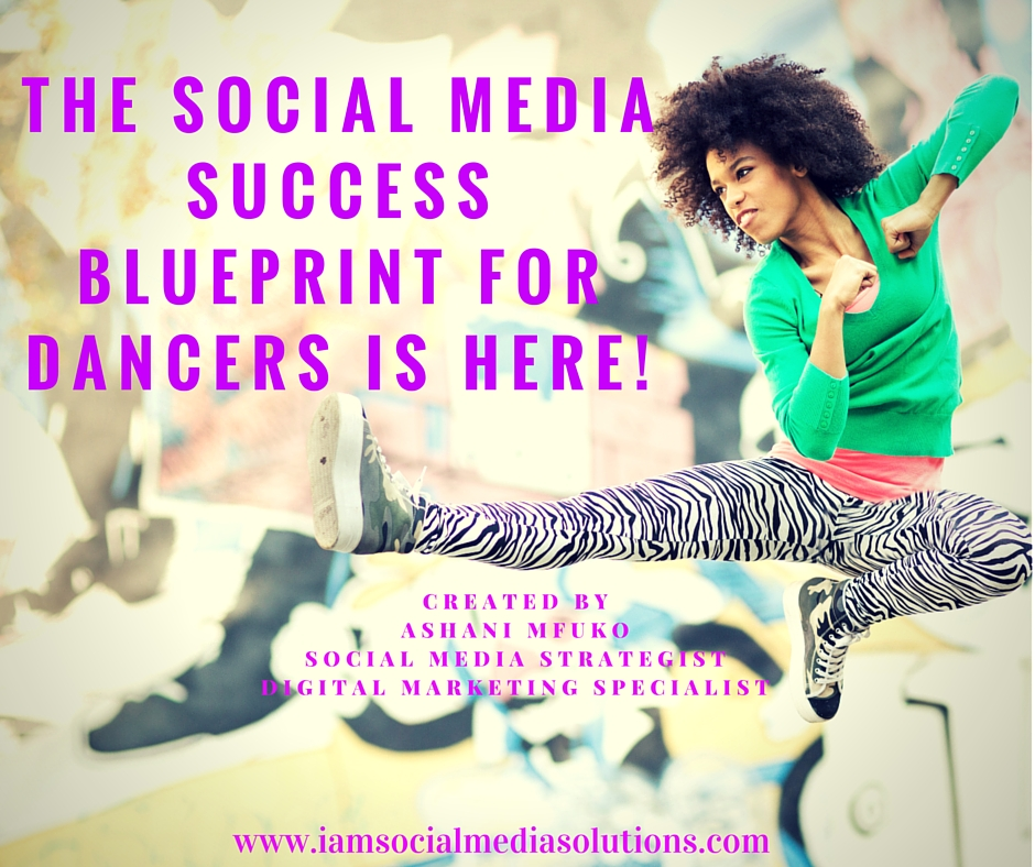 My social media success blueprint for dancers is here the dance the social media success blueprint for dancers is finally here malvernweather Images