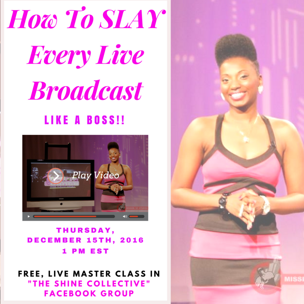 How To Master Every Facebook Live Broadcast