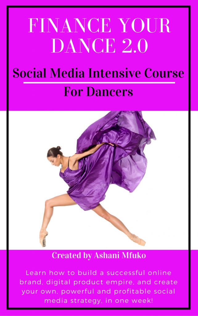 Finance Your Dance 2.0 - A Mini-Crash Course in Online Branding and Social Media for Dancers
