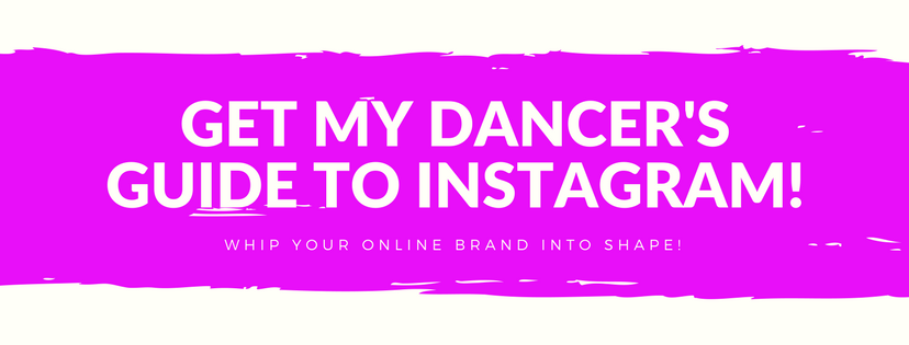 Get The Dancer's Guide To Instagram