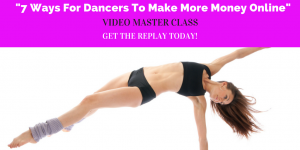 7 Ways For Dancers To Make More Money Online