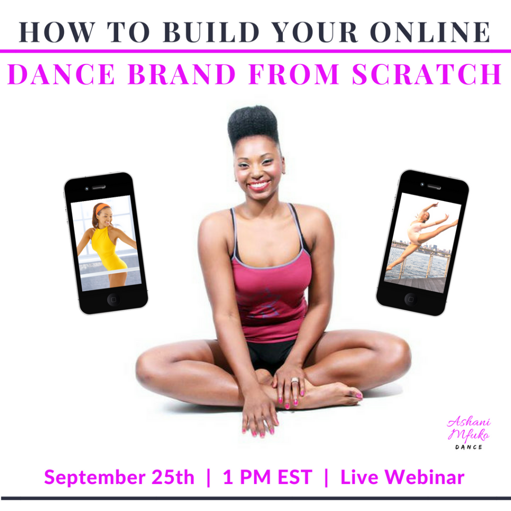 How To Build Your Online Dance Brand From Scratch (REPLAY)