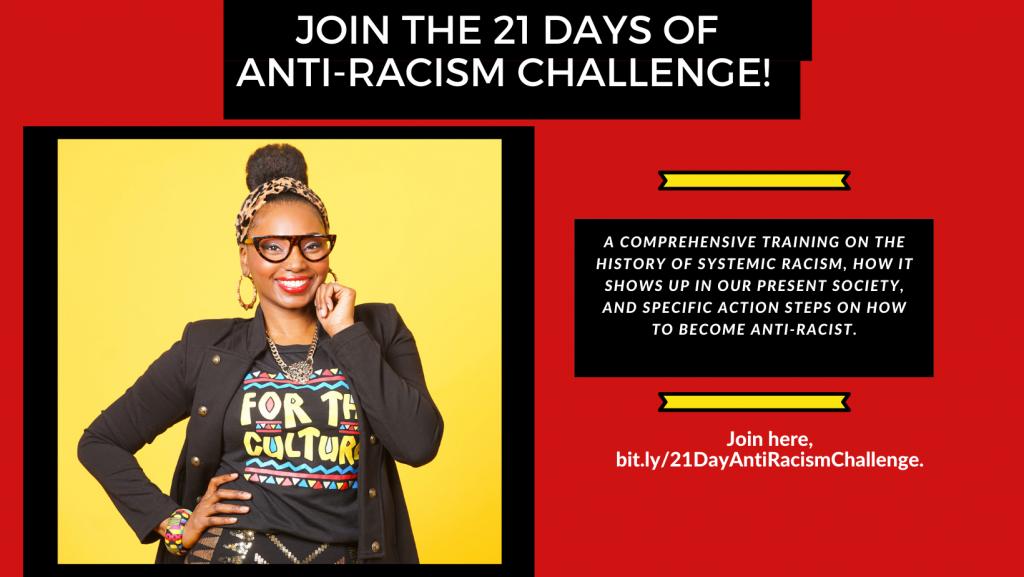 21 Days of Anti-Racism Challenge with Ashani Mfuko