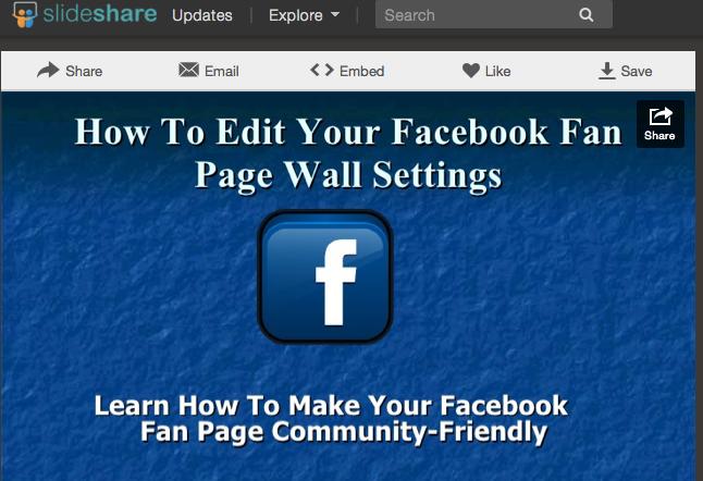 How To Use Slideshare For Social Media Marketing