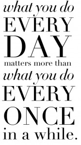 Motivational Quote on Consistency
