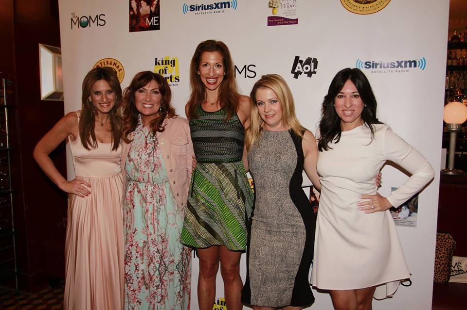 The MOMS Mother's Day Mamarazzi® Celebration. Pictured here, from left to right, The Moms' Denise Albert, Country Music Star, Jo Dee Messina, Award-Winning Actress, Alysia Reiner, Superstar Actress/Producer, Melissa Joan Hart, and The Moms' Melissa Gerstein  Photo Credit: Mission 101 Media