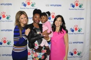 Ashani Mfuko at The MOMS and Hyundai Hope On Wheels Mamarazzi® Photo Credit: Mission 101 Media
