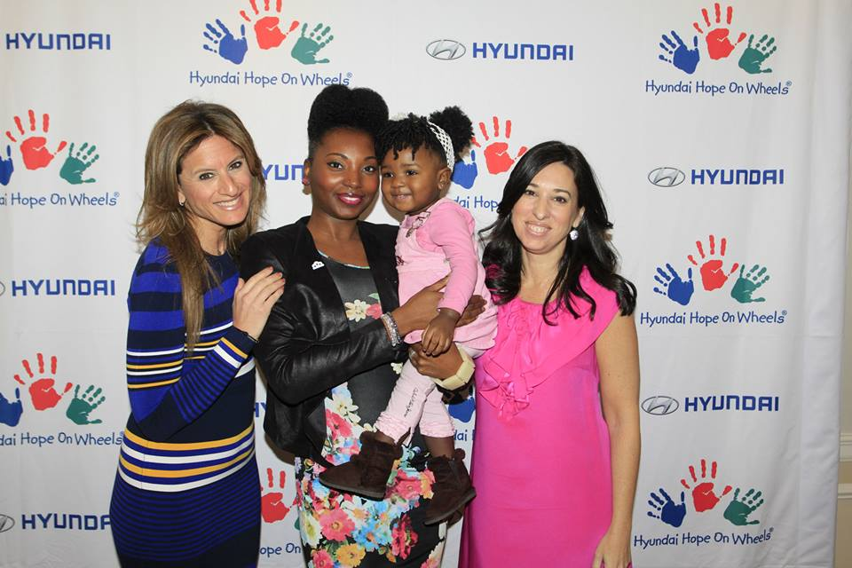 Ashani Mfuko at The MOMS and Hyundai Hope On Wheels Mamarazzi® Photo Credit: Mission 101 Media