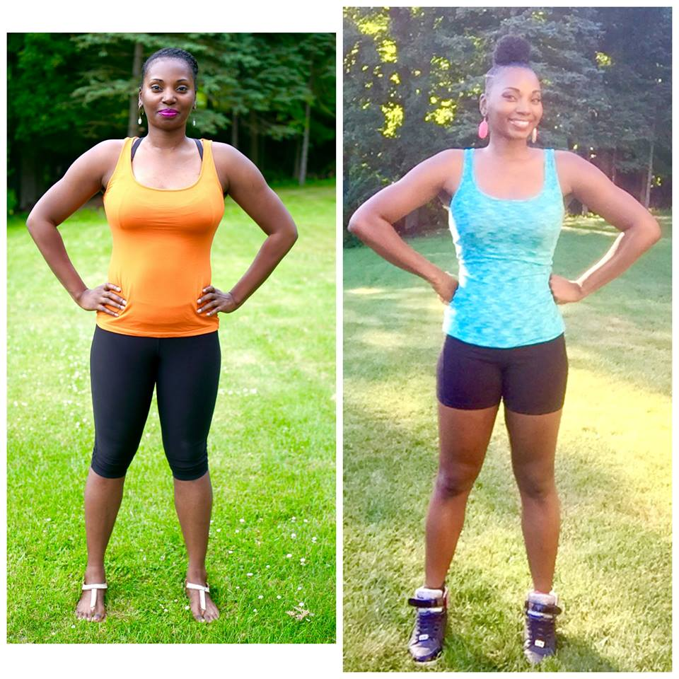 Ashani Mfuko Before & After Fitness Transormation
