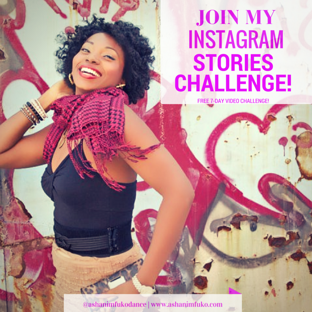 Join My Instagram Stories Challenge with Ashani Mfuko