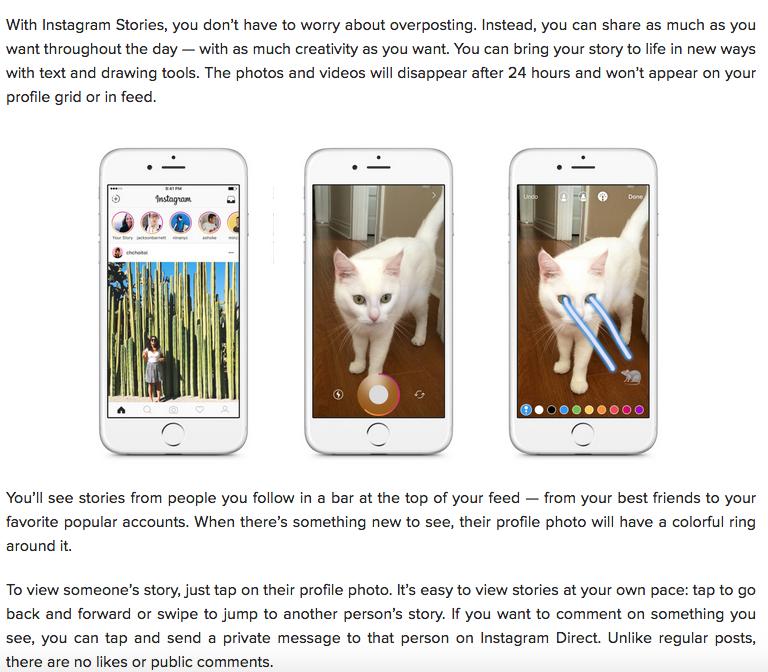 How Instagram Stories Work
