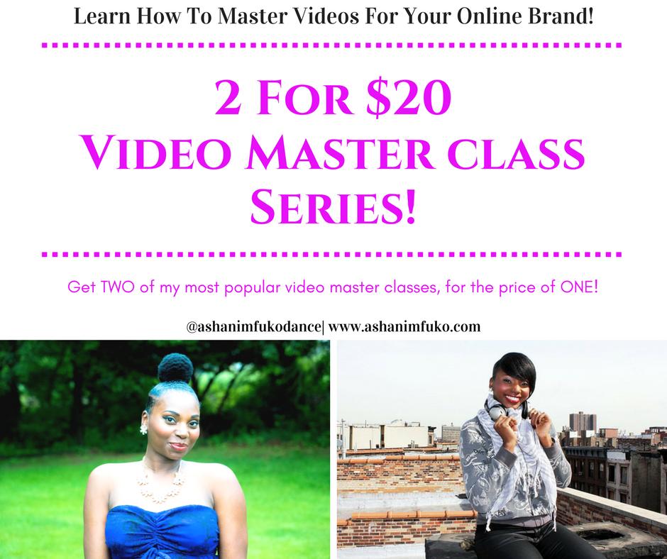 Video Master Class BOGO