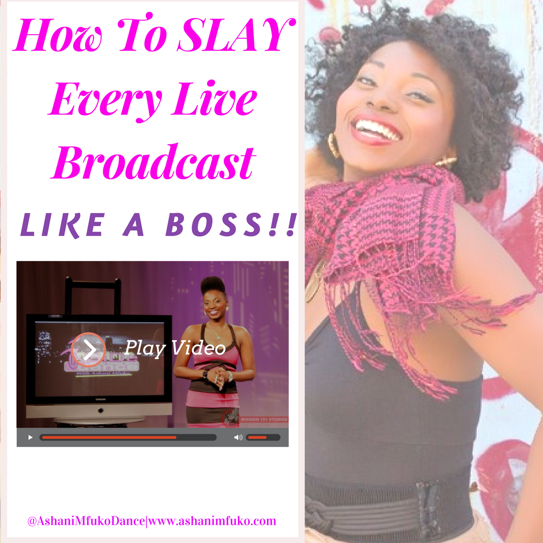 Learn the TOP live video broadcasting tips to help you grow a profitable brand and SHINE online!