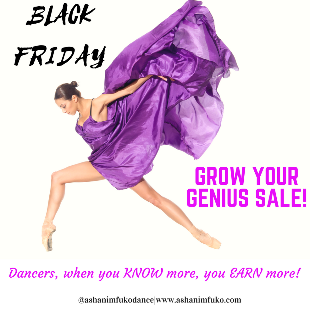 Black Friday Grow Your Genius Sale