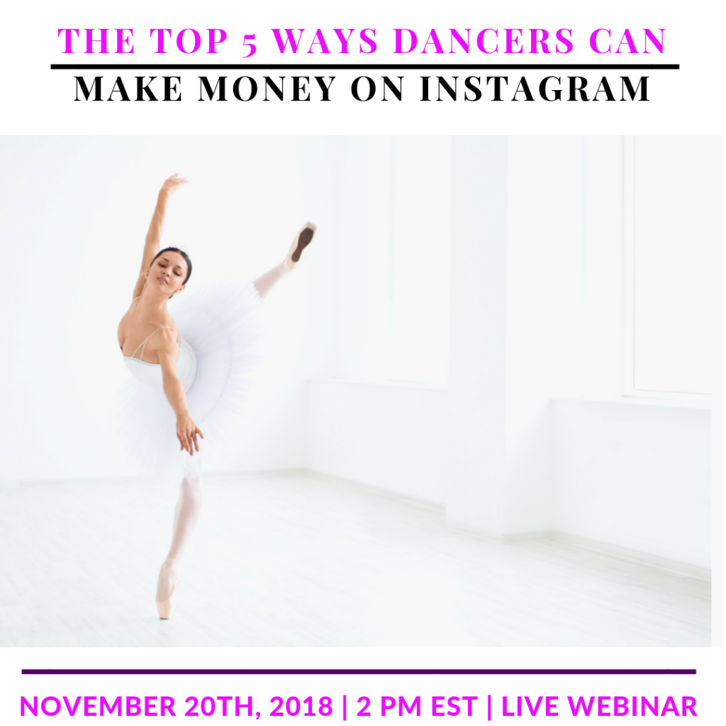 The Top 5 Ways Dancers Can Make Money on Instagram