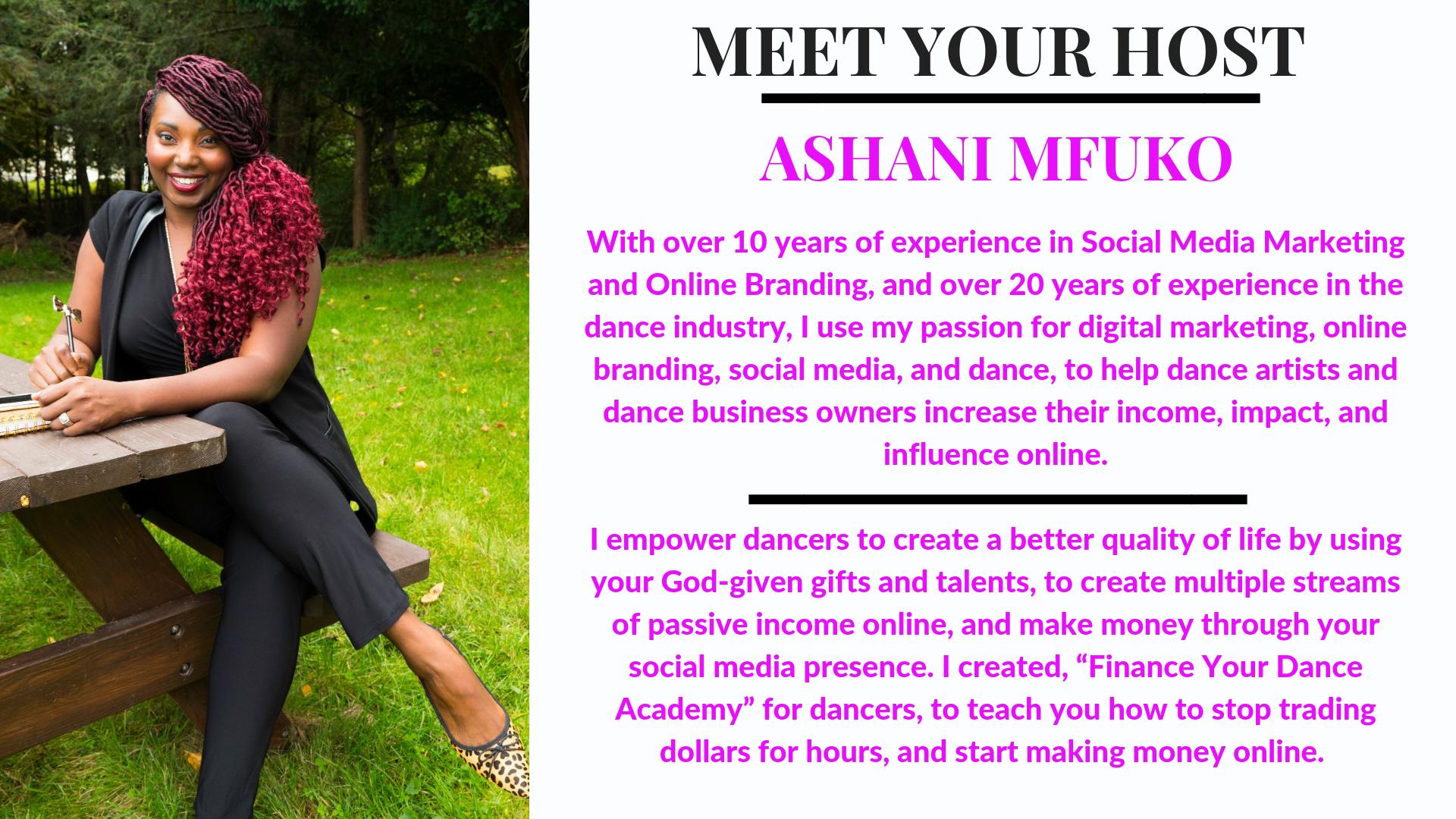 Meet Ashani Mfuko