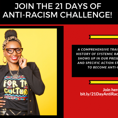 21 Days of Anti-Racism Challenge with Ashani Mfuko